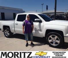 #HappyBirthday to Noel Flores from John Wolfe at Moritz Chevrolet!