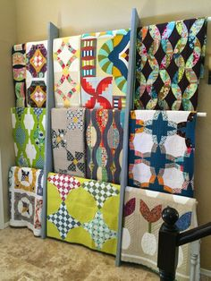 Welcome back to Top Ten Tuesday!  Do you have beautiful quilts that have no labels?  Do you own lovely works of quilt art that remain folded up because you have no idea how to properly display them…