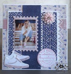 Scrapbook Albums, Scrapbooking Layouts, Concept Art Tutorial, Die Cut Cards, Marianne Design, Card Sketches, Baby Cards, Pattern Paper, Art Tutorials