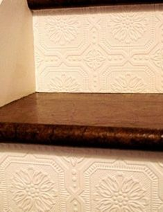 Wallpaper on Stairs | Easy and Creative Decor Ideas | Click for Tutorial