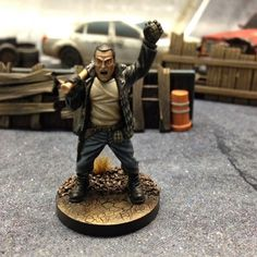 Walking Dead All out War Miniatures Game by Mantic #WalkingDead #AllOutWar #Mantic #miniaturesgame #alloutwar #twd #thewalkingdead #walkingdead #negan #lucille #darryl #mantic #rpg #boardgames