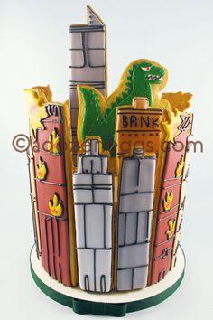 Godzilla on my wedding cake is my dream