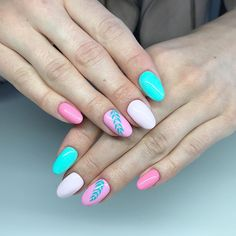 60 Cute Nail Design Ideas To Try This Season These trendy ideas would gain you amazing compliments. Check out our gallery for more ideas these are trendy this year. Beautiful Nail Designs, Cute Nail Designs, Beautiful Patterns, Cute Nails, Manicure, Claws, Beauty, Pretty Nails, Nail Bar