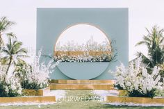Wedding Backdrop Design, Wedding Stage Design, Outdoor Wedding Decorations, Backdrop Decorations, Backdrops, Flower Shop Decor, Minimal Wedding, Garden Party Wedding, Gold Wedding Invitations