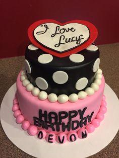 I love Lucy cake