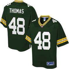 Youth Green Bay Packers Joe Thomas NFL Pro Line Green Team Color Jersey - $74.99
