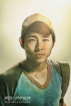 The Walking Dead: Glenn: Sketch Re-Edit by nerdboy69.deviantart.com on @deviantART