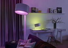 Hue Lamp Philips interior, je leest het op http://www.stijlhabitat.nl/hue-philips/ Light