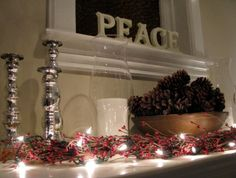 Holiday Mantel Designs