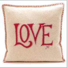 Felt #Love #Pillow