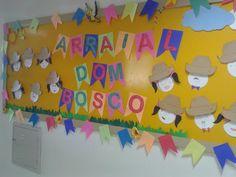 Pedagógiccos: Mural da Festa Junina