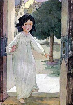 """Heidi"" (1923). Illustration by Anne Anderson"
