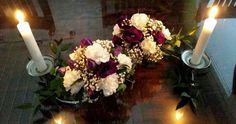 Kvartetti Floral Wreath, Wreaths, Home Decor, Decoration Home, Room Decor, Bouquet, Flower Band, Interior Decorating, Floral Arrangements