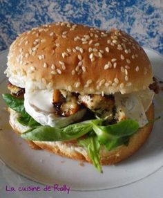 Burger poulet, chèvre, miel - The Best Easy Healthy Recipes Burger Recipes, Pizza Recipes, Chicken Recipes, Snack Recipes, Healthy Recipes, Recipe Chicken, Avocado Recipes, Casserole Recipes, Soup Recipes