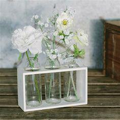Paper Whites Ditsy Floral Vase