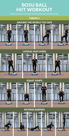 Bosu Ball HIIT Workout: Mix up your workout routine with this high intensity interval training!