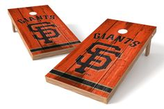 San Francisco Giants Cornhole Board Set - Vintage