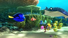 Finding Dory: A delightful underwater adventure