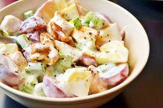 Waldorf saláta recept csirkével Veggie Recipes, Gourmet Recipes, Salad Recipes, Diet Recipes, Cooking Recipes, Healthy Recipes, Healthy Food, 500 Calorie Meals, Good Food