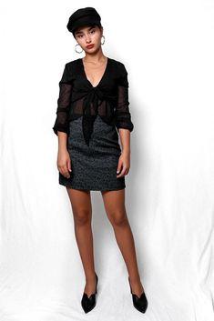 Φούστα μίνι animal print πράσινη SKI028 Vintage Skirt, Cold Shoulder Dress, Green, Skirts, Dresses, Fashion, Vestidos, Moda, Skirt