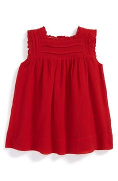 Burberry 'Amour' Sleeveless Dress (Baby Girls) available at #Nordstrom