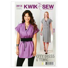 Mccall Pattern K3913 Xs-S-M-L-X-Kwik Sew Pattern