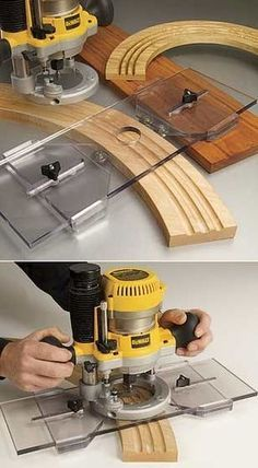 Arched Fluting Jig Router Base Plate SAVE $10! List $69.95. #9539........SALE $59.9: