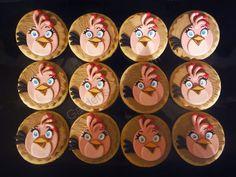 Garden´s Cakes Galletas Angry Bird Garden Cakes, Garden S, Angry Birds, Clock, Food, Home Decor, Cookies, Sweets, Watch