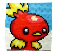 Hey, I found this really awesome Etsy listing at https://www.etsy.com/ru/listing/212684564/pokemon-torchic-perler-bead-portrait
