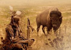 buffalo man.