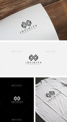 Infinity Ticket Logo by Fully Editable Logo EPS EPS and AI files CMYK Easy to Change Color and Text Font information at the Help fil Logo Design Template, Logo Templates, Typography Logo, Logo Branding, Infinito Logo, Logo Infinity, Clinic Logo, Web Design, Photography Logo Design