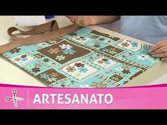 Vida com Arte | Bolsa carteira por Maura Castro - 04 de Março de 2017 - YouTube