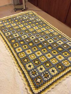 Piesera tejida a crochet ,manualidad