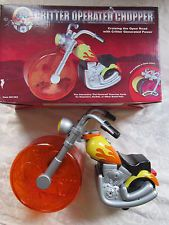 COOL Critter Operated Chopper HAMSTER, Rat, Gerbil small CRITTER Motorcycle Toy