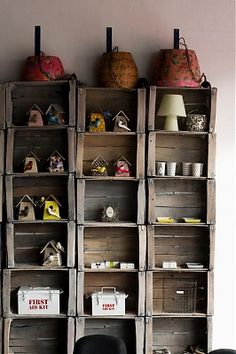 Recycling vintage crates