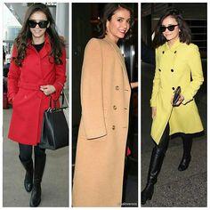 Good morning  Nina Dobrev has the best taste in coats