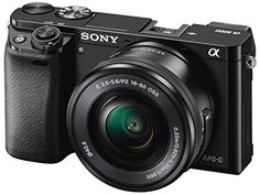 Sony ILCE6000LB Compact System Camera with SELP1650: Amazon.co.uk: Electronics