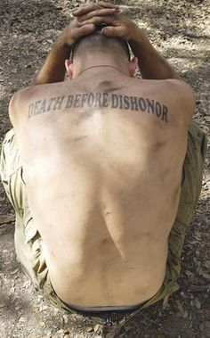 Death Before Dishonor ...