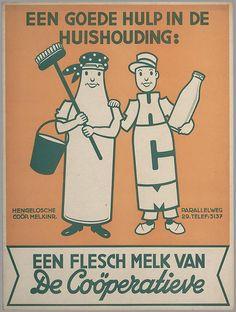 Een flesch melk van De Coöperatieve