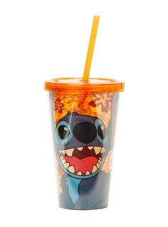 Disney Lilo & Stitch Happy Orange Acrylic Travel Cup | Hot Topic