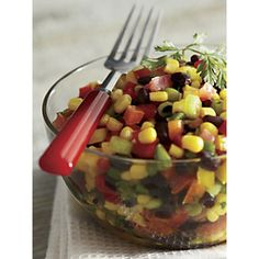 Aunt Audrey's Corn Salad recipe | www.countrydoor.com