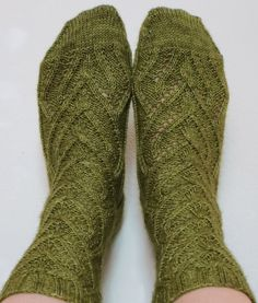 Pisum socks by Verybusymonkey - shown in Sedge -  http://www.hazelknits.com/sedge-artisan-sock/