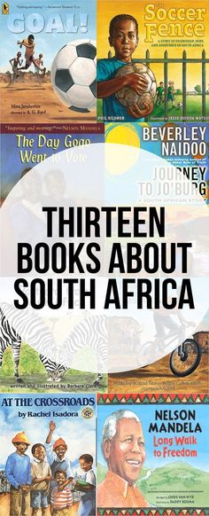 13 Kids Books About South Africa - picture books and educational books casual galaxy
