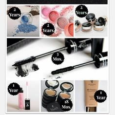 All makeup has a shelf life once opened. Here are some tips on how long you should keep Younique productshttps://www.youniqueproducts.com/michellethompson/products#.U7yizfldWJg