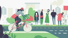 Together with Sturm & Drang, we created a film for the project Bike friendly Workplace. A fun project, which challenges companies to make their workplace more bike friendly. And by doing so, assuring that more people choose to go by bike in the morning.