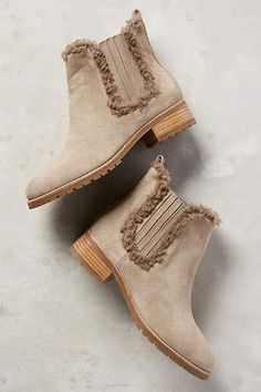 Miss Albright Trimmed Chelsea Boots - anthropologie.com