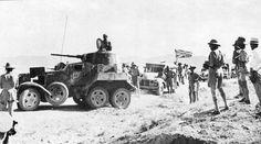 BA-10 armored car in Persia