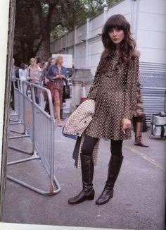 SERENDIPITY IS LIFE: Street Style: Irina Lazareanu