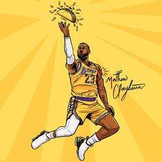 Basketball Vines, Basketball Art, Design Case, Tee Design, Nba Pictures, Nba Wallpapers, What Day Is It, Magic Johnson, Nba Players