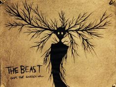 This show was fantastic and it sucks that it's a mini series /).(\ The Beast -Over The Garden Wall Over The Garden Wall, Bendy And The Ink Machine, Cartoon Shows, Learn To Draw, Art Direction, Concept Art, Beast, Fandoms, Art Prints